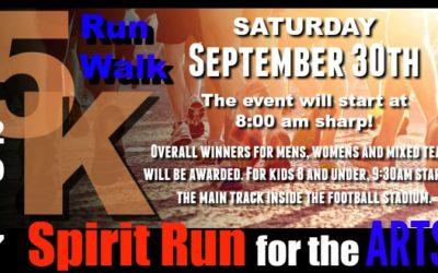 Spirit Run for the Arts
